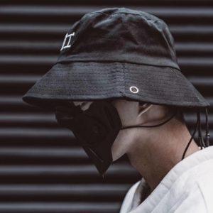 11 BYBB'S DARK Hip Hop Bucket Hat Men Long Strap Embroideried Fisherman Hats Streetwear Outdoor Travel Beach Foldable Sun Caps