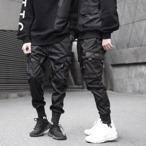 11 BYBB'S DARK Men Joggers Pants Multi-pocket Elastic Waist Harem Pants Men Hip Hop Streetwear Sweatpants Pencil Pants Techwear