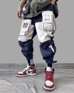11 BYBB'S DARK Patchwork Pockets Cargo Pants Men Harajuku Hip Hop Sweatpant Male Joggers Track Trousers Streetwear Techwear