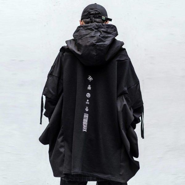 Japanese Streetwear Men's Hoodies