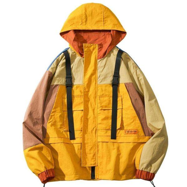 Men's Streetwear Hooded Jacket