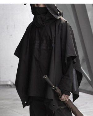 11 BYBB'S DARK Dark Functional Cloak Dark Ninja Jacket Trench 2020 Streetwear Tactical Pullover Hoody Windbreaker Shawl Coat Men