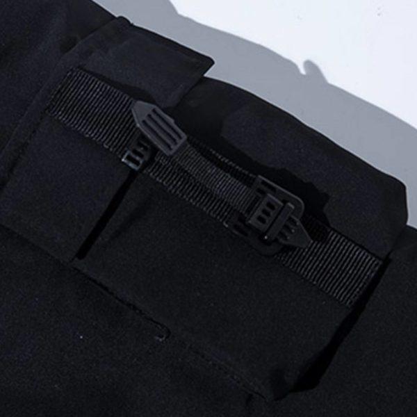 11 BYBB'S DARK Hip Hop Streetwear Padded Jackets Multi Pockets Tactical Cargo Parka Jackets Men Harajuku Windbreaker Parka Coats