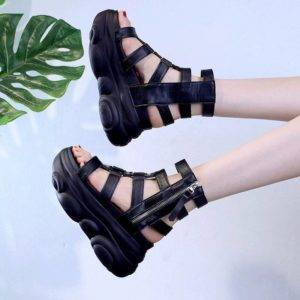 Chiq© Women's High Techwear Gladiator Sandals