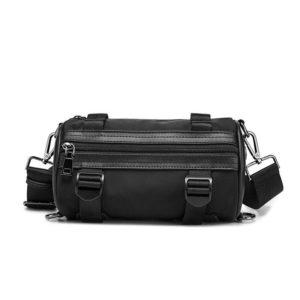 DAEYOTEN 2020 New Cylinder Bag Korean Style Shoulder Bags for Men Casual Messenger Bag Male Street Fashion Bucket Bags ZM0824