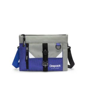 Drepack Hot 2021 Men's Messenger Square Bags Long-Strap Street Casual Trendy Shoulder Bags Outdoor All-Match Crossbody Bags