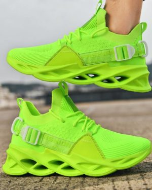 Fashion Men's Sneakers Summer Design New Trend Mens Shoes Casual Mesh Breathable Light Tenis Masculino Adulto Size 39-46