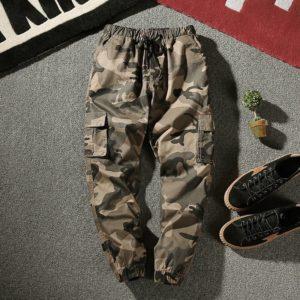 Joggers Cargo Pants Men Harem Pants Multi-Pocket Camouflage Man Cotton Sweatpants Streetwear Casual Plus Size Trousers M-7XL