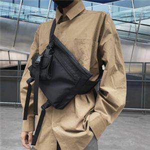 Men Chest Bag Belt Fanny Pack Women Small Letter Casual Travel Phone pack Purse Street Crossbody Shoulder Bags Man Waist Bag