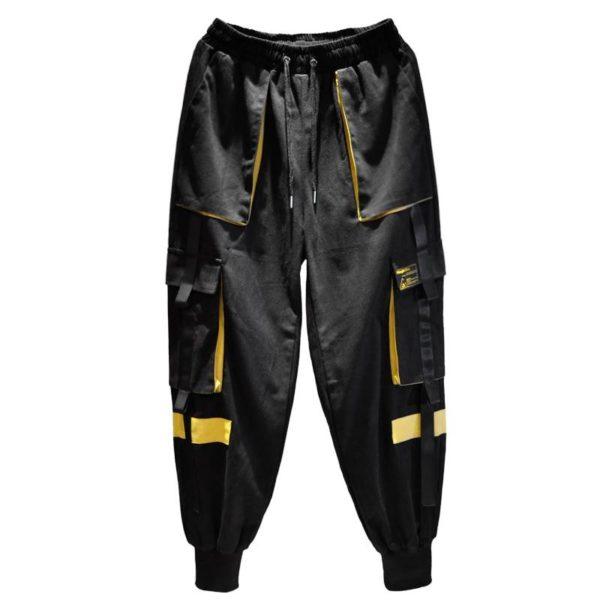 Men Joggers Pants Multi-pocket Elastic Waist Harem Pants Men Hip Hop Streetwear Sweatpants Pencil Pants Male Dropshipping