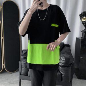 Men Women T Shirt Japanese Fashion Tshirt Vintage Tee Tops Clothes Alt Alternative Clothing Summer Techwear Cyber Ghetto