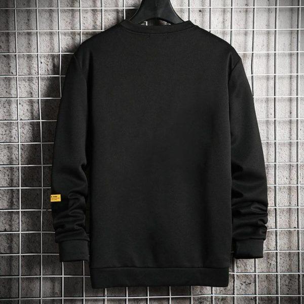 Men's Casual Style Plus Size Techwear Sweatshirt