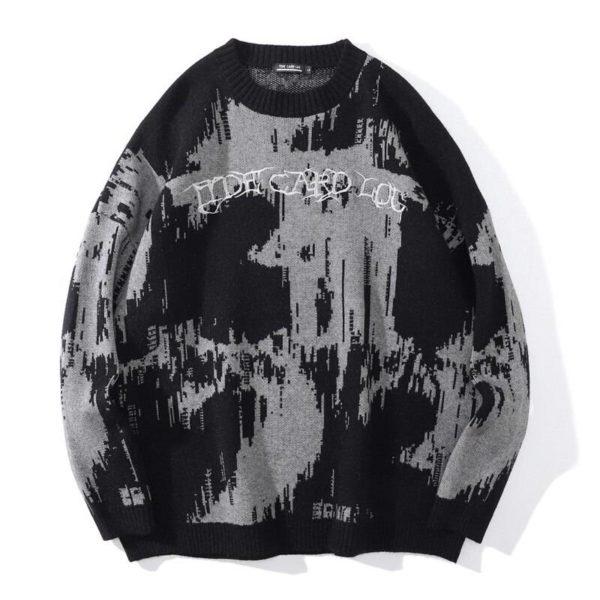 Men's Cotton Oversized Streetwear Sweatshirt
