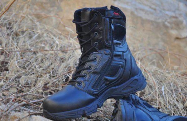 Men's Waterproof Leather Techwear High Boots