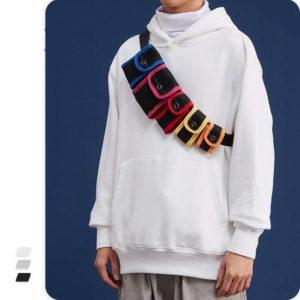 Multi-Color Waterproof Reflective Techwear Waist Bag