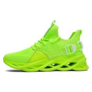 NeoBliz© Men's Neon Color Techwear Sneakers