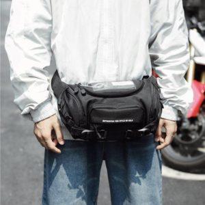 Oxford Multi-Pocket Tactical Style Waist Bag