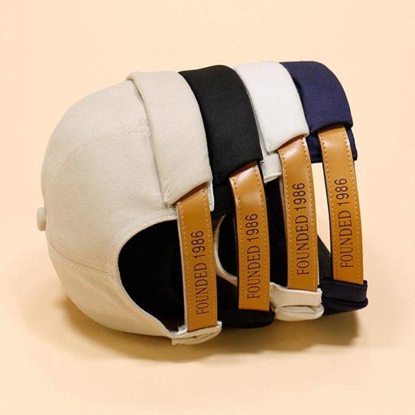 Retro Men Docker Cap Sailor Biker Women Winter Hat Casual Brimless Skull Loop Beanie Hat Solid Women Harajuku Korean Style Caps