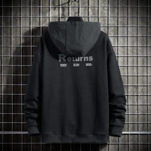 Single Road Mens Hoodies Men 2021 Spring Techwear Hip Hop Sweatshirt Japanese Streetwear Oversized Black Hoodie Men Plus Size