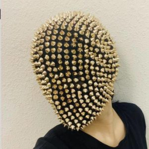 Spikes / Crystals Techwear Full Face Mask