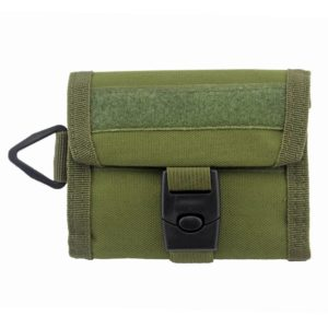 Tactical 800D Nylon Military Outdoor Sports Wallet Purse Mesh Pocket Hook Loop and Buckle Cloure Hunting Molle Bag