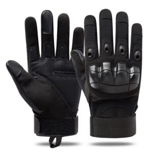 Tactical Style Shockproof Sports Techwear Gloves