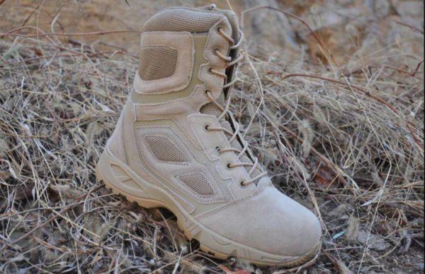 TerraTrooper© Men's Waterproof Leather Techwear High Boots