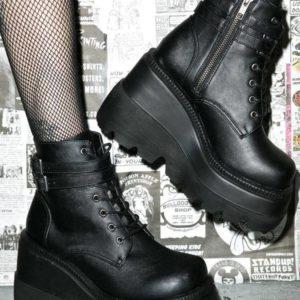Unisex Ultra-High Platform Techwear Ankle Boots