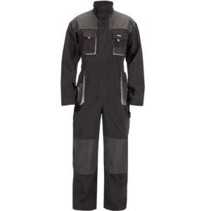 Men's Color Block Multi-Pocket Techwear Suit