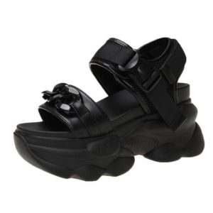 Women's Chunky Platform Casual Techwear Sandals
